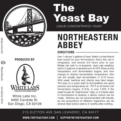 7273 the yeast bay northeastern abbey