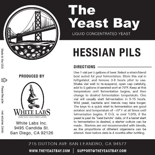 7277 the yeast bay hessian pils