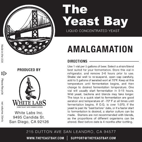 7293 the yeast bay amalgamation brett super blend