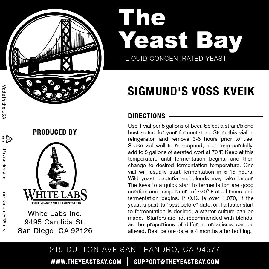 7537 the yeast bay sigmunds voss kveik