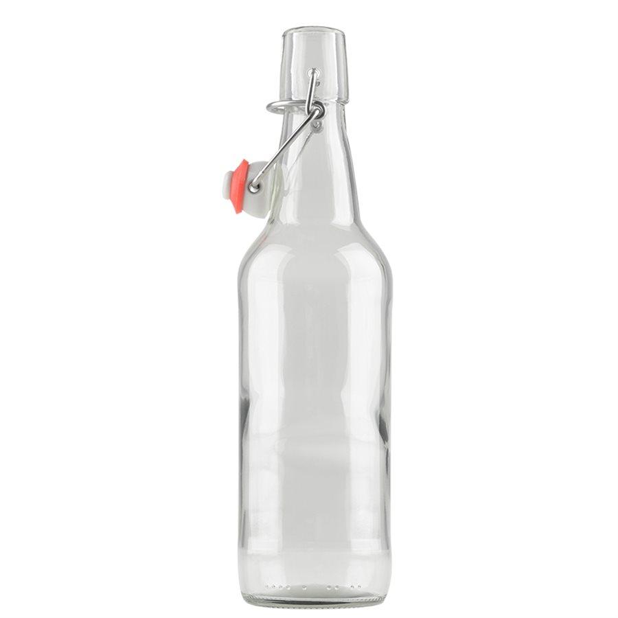 7905 kombucha clear bottles 500ml swing top 12 pack