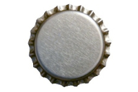7909 copy of crown caps silver 100 pack