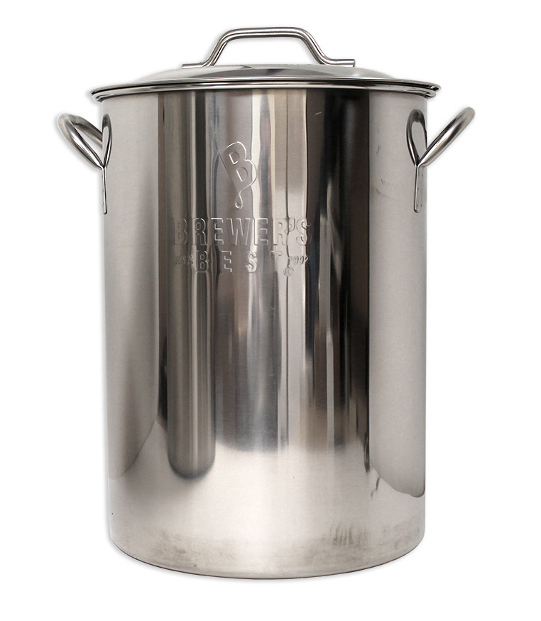 7987 16 gallon brewers best kettle drilled