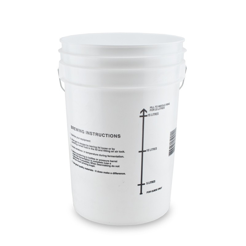 8387 6 gallon fermenting bucket with lid