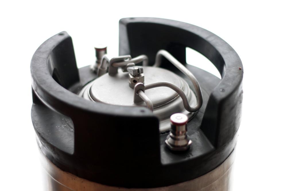 8813 5 gallon ball lock keg reconditioned