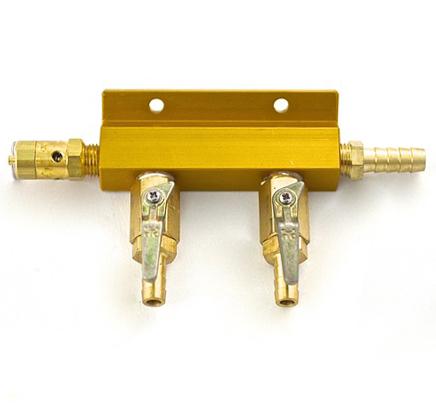 8817 taprite 2 way gas distributor manifold