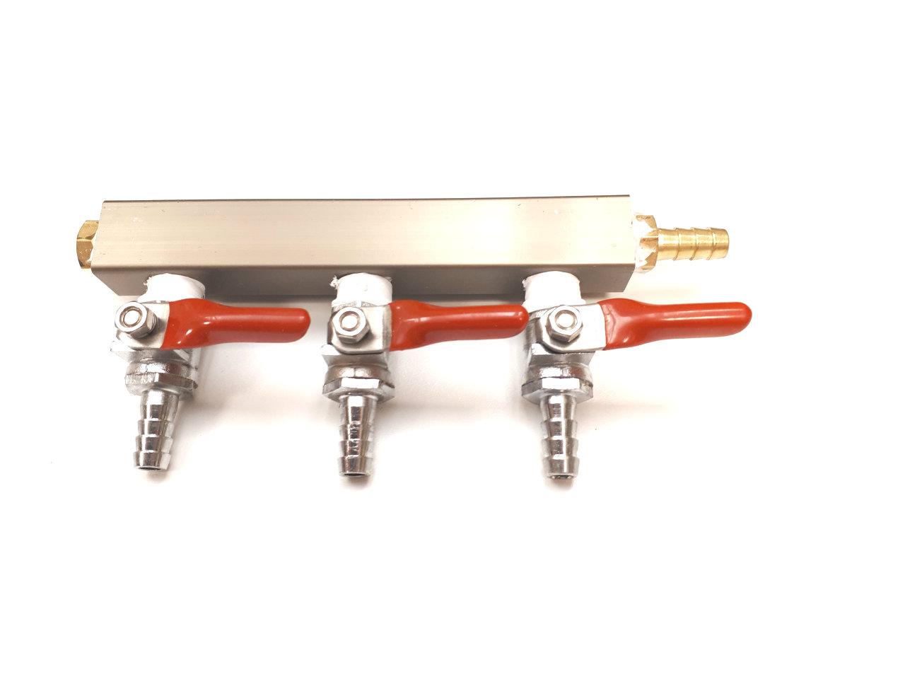 8829 3 way gas distributor manifold