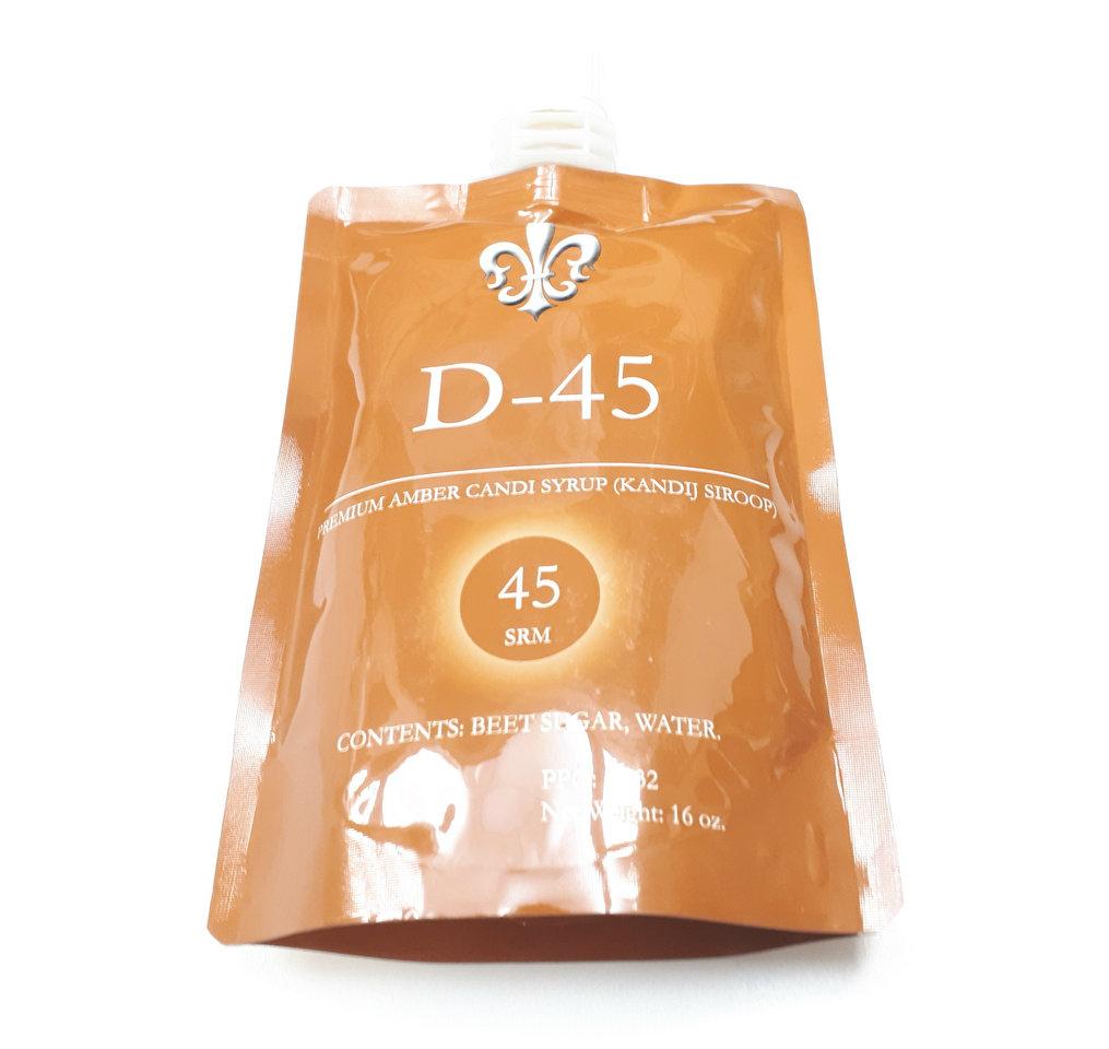 9051 candi syrup amber d 45 srm lb