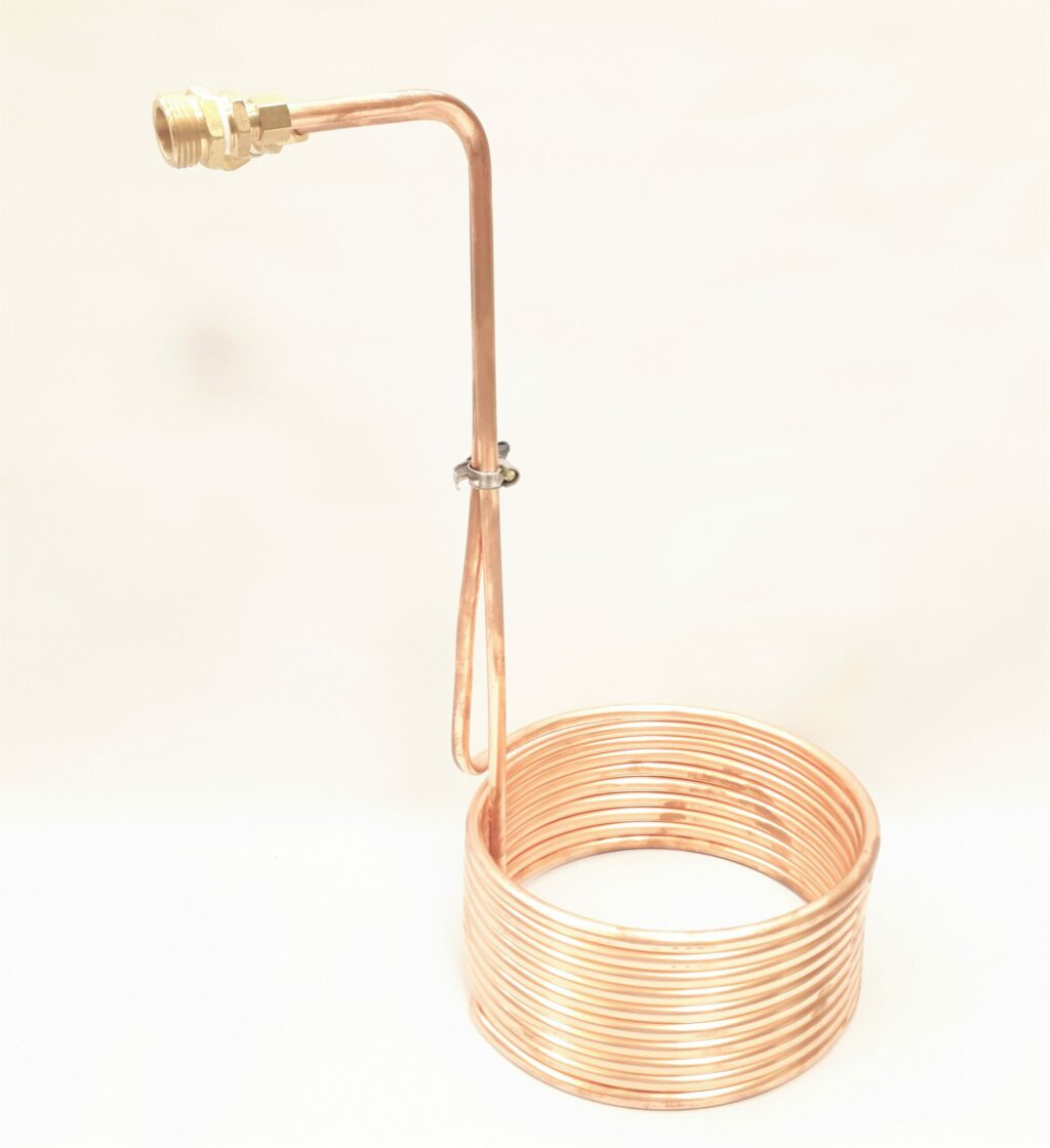 9293 Copper Immersion Wort Chiller 25 ft scaled