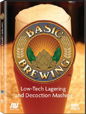 9309 Basic Brewing Low Tech Lagering and Decoction Mashing DVD
