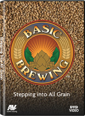 9313 Basic Brewing Stepping into All Grain DVD