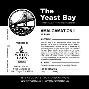 9809 the yeast bay wlp4641 amalgamation ii brett super blend