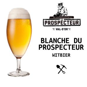 Blanche du prospecteur - Witbier