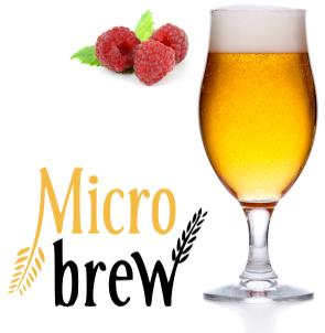 22778 micro brew raspberry white ale