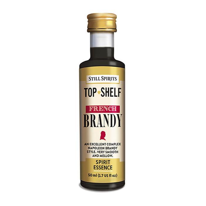 23002 top shelf french brandy 50ml