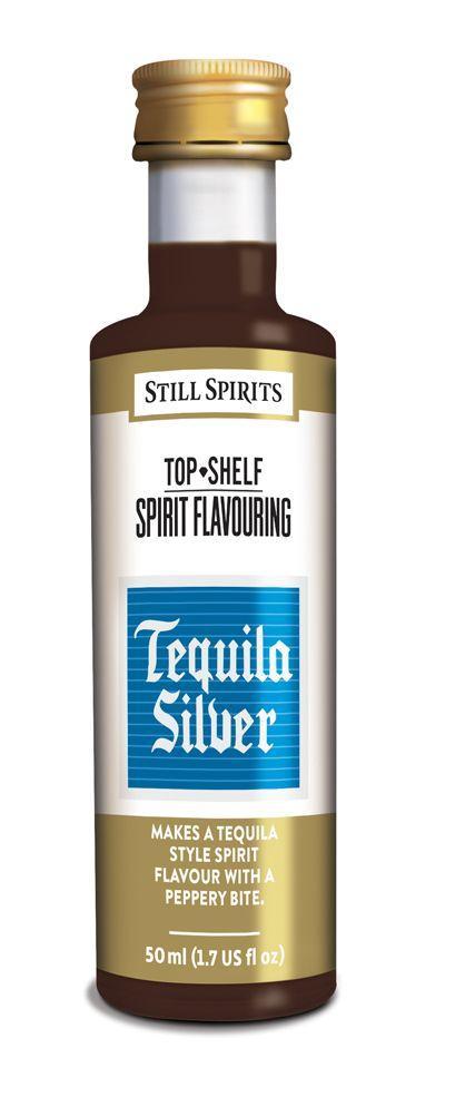 23044 top shelf silver tequilla 50ml