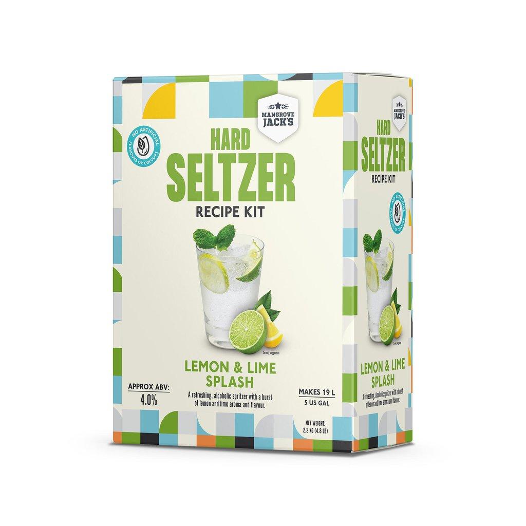 23292 hard seltzer lemon lime splash
