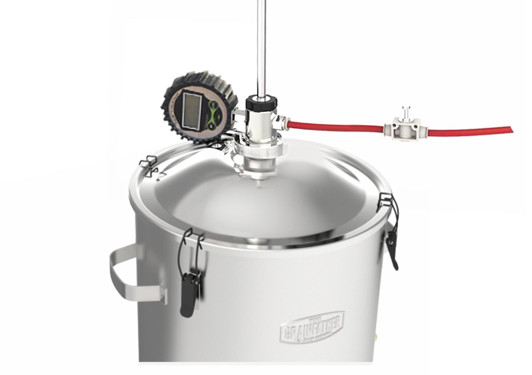 23332 pressure transfert for conical fermenter