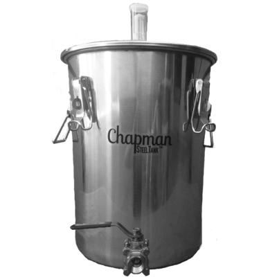 23630 7 gallon steeltank kettle fermenter chapman brewing equipment