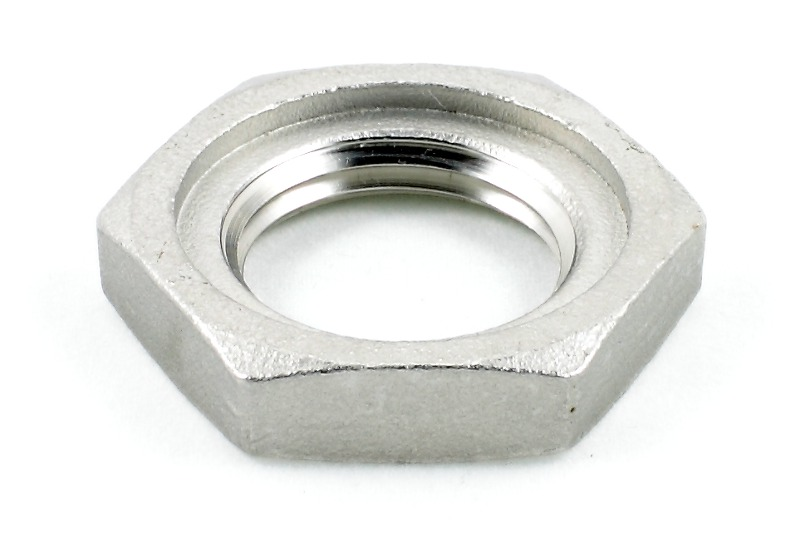 23634 1 2 locknut with groove stainless steel